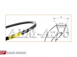 Пас привода ротора домолочуючого пристрою УБ-3150